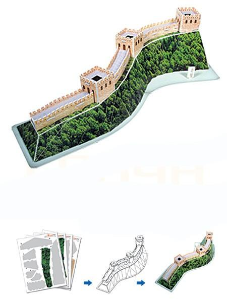 Как сделать китайскую стену из бумаги
