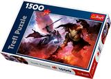 Trefl Puzzle Never-Ending Fight Between Good and Devil (1500 Pieces) XL64646